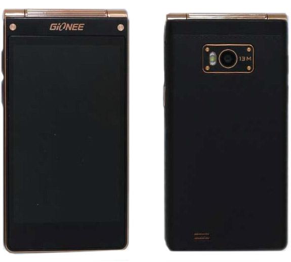 Раскладушка W900 от Gionne с двумя Full HD дисплеями