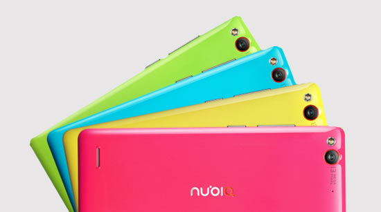 Варианты расцветки Nubia Z7 Mini
