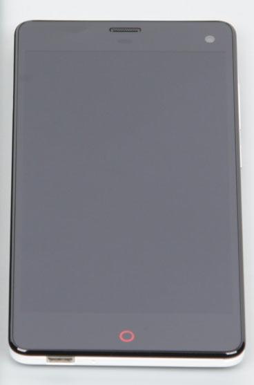 Экран Nubia Z7 Mini при солнечных лучах