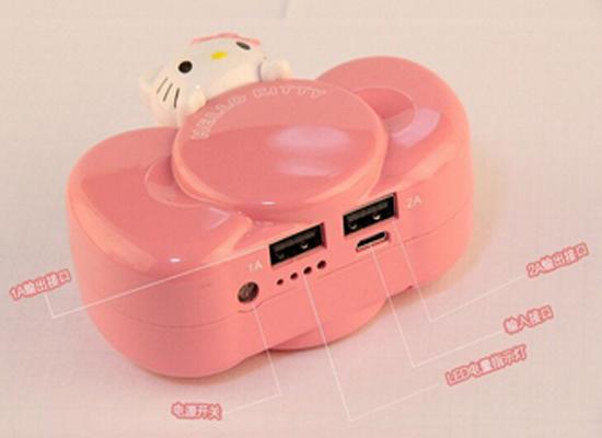 Китайский power bank  Hello Kitty мощностью 8800 мАч