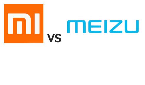 Xiaomi vs Meizu