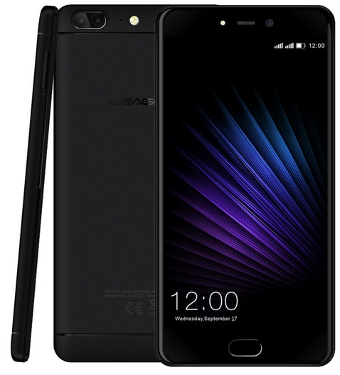 Смартфон Leagoo T5 Black