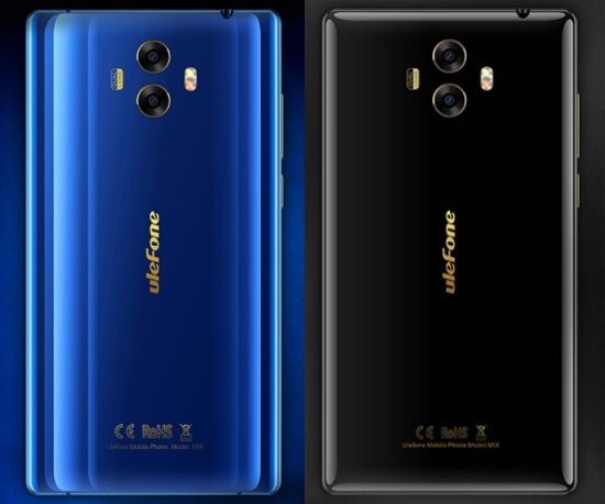 Ulefone Mix black & blue