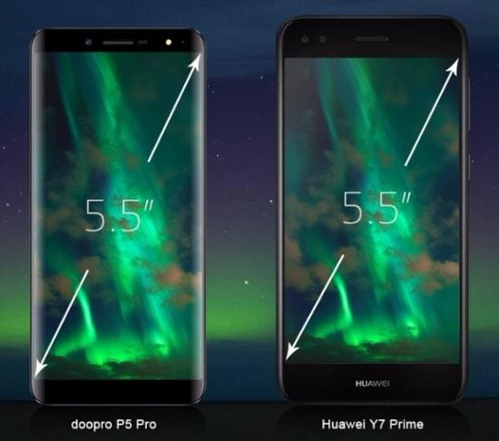 Сравнение Doopro P5 Pro и Huawey Y7 Prime